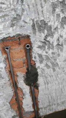 自行裝配水管