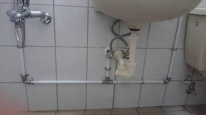 熱水管漏水處理-山川三通