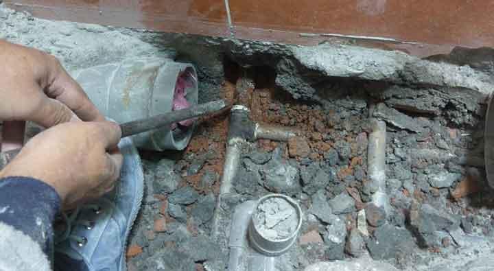 車牙管遇到維修很麻煩, 用山川接頭不怕維修的煩惱