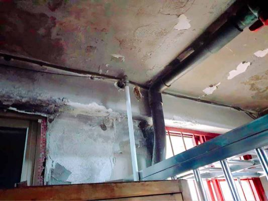 山川接頭-不銹鋼壓接管-瓦斯管配置3